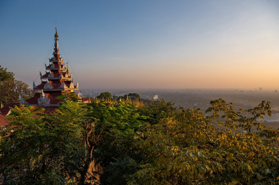 My first few days in Myanmar
